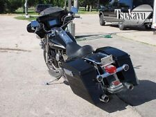 Tsukayu Wide Stretched  Hard Saddlebags For  H-D RoadKing