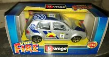 Modellino Burago Volkswagen Golf Rally, scala 1:43