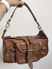 Vintage MULBERRY Emmy / Alana BAG OAK BROWN Leather HANDBAG