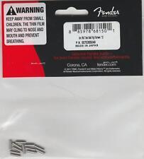 Fender® American Standard Tele Saddle Height Screws(12)~0075385049~MIJ~Brand New
