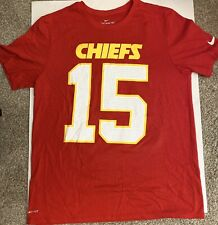 Nike Kansas City Chiefs Patrick Mahomes Red Name & Number T-Shirt Large