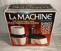 Moulinex LA MACHINE 354 Food Preparation System SHRED GRIND food processor NEW