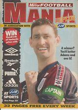 Daily Mirror Football Mania Plus 15 Tony Adams  16-Dec-96 Arsenal