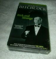 Rich and Strange Special Edition VHS Alfred Hitchcock Movie New Factory Sealed