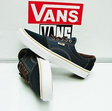 Vans Rowley Solos Dress Blues Brown VN00018KI53 Men's Size: 9