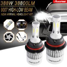 388W 38800LM CREE COB 9007 HB5 LED Headlight Kit Bulbs 6000K High Low Beam Power