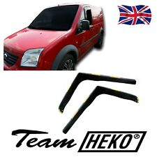 FORD TRANSIT CONNECT 2002-2013 WIND DEFLECTORS 2pc HEKO TINTED