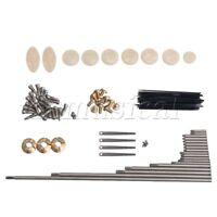 Alto Saxophone Repair Tool Kit Screws and Springs Key button Inlays Set