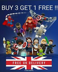 LEGO MARVEL MINIFIGURES 71031 **CHOOSE YOUR CHARACTER** HEAT RE-SEALED BAG