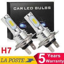2Pcs H7 55W LED Car Fog Tail Driving Light Lampe à Phare Ampoule Blanc Nouveau