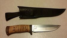 ZLATOUST Russian damaskus steel knife in great condition. ЗЛАТОУСТ