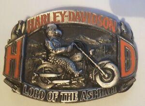 Buckle/ Harley Davidson / Baron / USA 1992 / Lord of the Asphalt