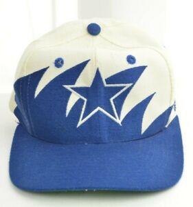 NFL Dallas Cowboys Vintage Sharktooth Snap On Pro Line Logo Athletic Hat Cap