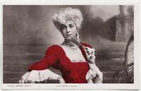 VESTA TILLEY - Edwardian Actress - 1906 used real photo postcard