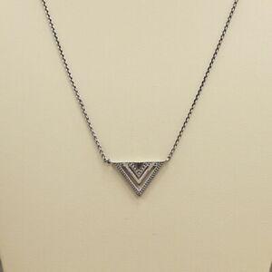 Thomas Sabo Silver Multi 'V' Shape Necklace