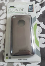 Coque iphone 3gs (Gris métal)