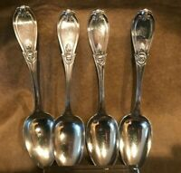 Grecian by Whiting-Hubbard Sterling Silver Serving Spoon 8 12