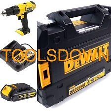 DeWALT Tstak 18v Cordless Combi Drill DCD776 1.5Ah Li-ion Battery & Fast Charger