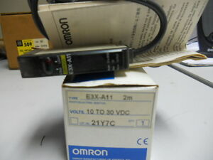 OMRON E3X-A11 NEW PHOTOELECTRIC SENSOR E3XA11