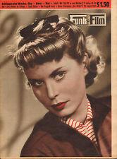 FUNK UND FILM 1955 nr. 34 - MARLON BRANDO/WERA FRYDTBERG/BIBI JOHNS