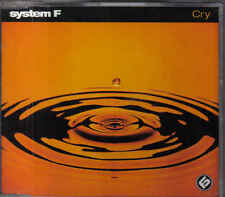 System F- Cry cd maxi single By Ferry Corsten
