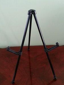 Tabletop display easel
