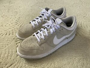 Nike Dunk Low 'Pale Grey' Suede Leather Size 13