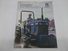 Ford New Holland Compact Diesel Tractors 1215 1220 1320 1520 1620 1715 Brochure