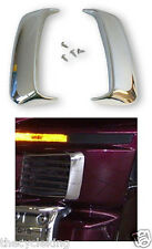 '88-'97 Honda GL 1500 Goldwing - CHROME fairing shark gills/exit vent accents