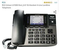 RCA Unison U1100 Dect_6.0 10-Handset 4-Line Landline Telephone