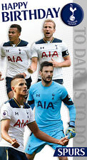 Tottenham Hotspurs Players Birthday Badged Card FREE 1ST CLASS POSTAGE (TO001/8)