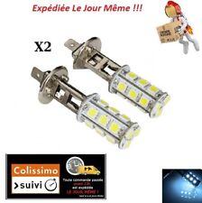 2X AMPOULES H1 18 LED LAMPE PHARE TUNING FEUX ANTI BROUILLARD XENON BLANC 6000K