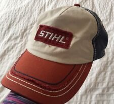 best sneakers 2d2f2 ddec7 STIHL Distressed Red, White   Blue Cool Contrast Stitching Patch Logo Hat    Cap