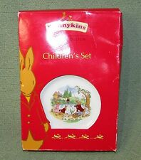 Royal Doulton BUNNYKINS 2008 3 Piece Childrens Traditional Dish Set NEVER USED