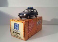 PEUGEOT 205 GENDARMERIE 1991 TRANSPORT D'ORGANES NOREV HACHETTE 1/43 NO POLICE
