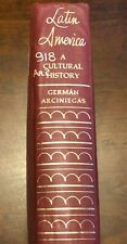 LATIN AMERICA: A Cultural History by German Arciniegas (1st Ed - 2nd Print) 1968