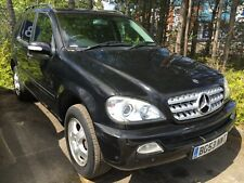53 MERCEDES-BENZ ML270 2.7 CDI TIPTRONIC **AUTO, BLACK, LEATHER, SENSORS ETC**