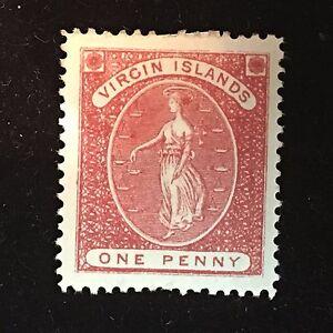 1889 Virgin Islands Postage Stamp Unused