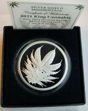 Silver shield 2021 2oz King Cannabis (Low CoA)