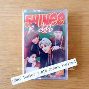 Shinee Official 1 Of 1 Cassette Tape 5th Album Limited Version K-POP