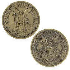 Washington Saint Michael Commemorative Challenge Coins Collection Business Gift