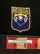 Cheaply Made NEVADA JACKET PATCH ~ Flag Theme C633