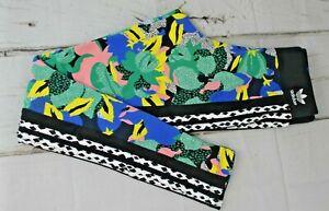 NWT $80 Adidas Originals HER Studio London Leggings Floral GC6851 Sz XS