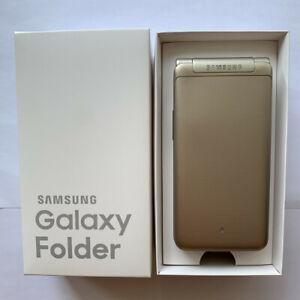 New Unlocked Original Samsung Galaxy Folder G1600 Dual Sim 16GB Flip Smartphone