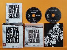 Ps3 Metal Gear Solid Legacy Collection 1987-2012 Tactical Espionage Action