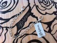 Brighton 6-inch silver-plated necklace extender ~ NWT