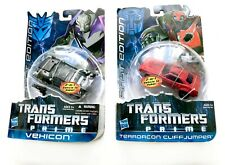 Transformers Prime Hasbro First Edition Terrorcon Cliffjumper and Vehicon