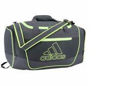 NEW Adidas DEFENDER III Small Duffel Bag Onix/Hi Res Yellow FREE SHIPPING