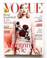 VOGUE UK Magazine NOVEMBER 2015 Lea Seydoux KARLIE KLOSS Saskia de Brauw @VG Con