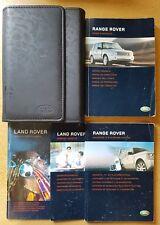 RANGE ROVER HANDBOOK OWNERS MANUAL WALLET NAVI 2005–2009 REF D-11 !